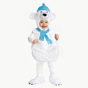 Polar Bear Toddler Costume, Large (2T/4T)