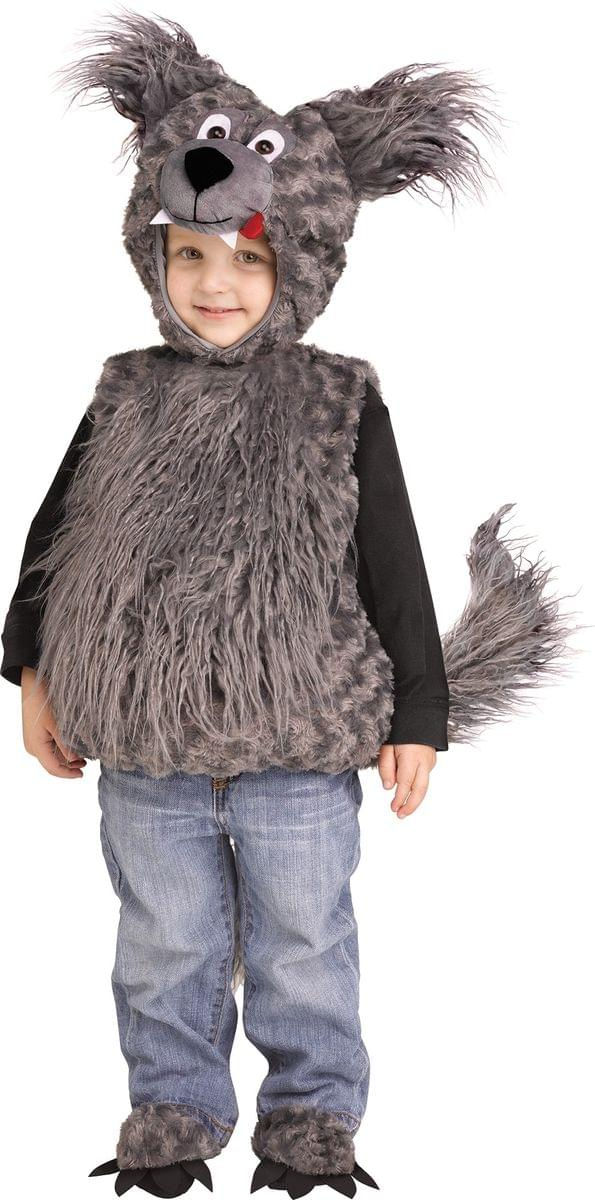Cuddly Wolf Cub Toddler Costume - Large 2T/4T