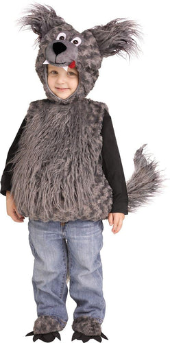 Cuddly Wolf Cub Toddler Costume