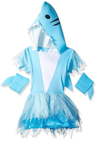 Shark Sharp-Toothed Tutu Girl's Costume