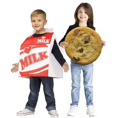 Milk and Cookie Toddler Costumes, 2-Pack