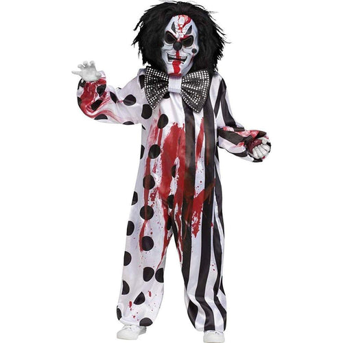 Bleeding Killer Clown Child Costume