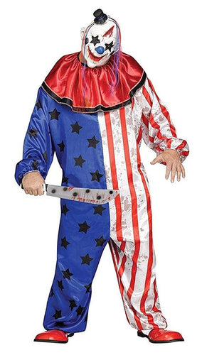 Evil Clown Adult Costume - One Size