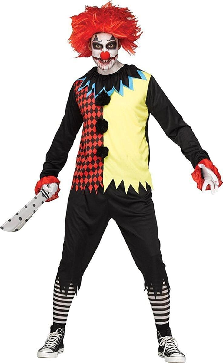 Freakshow Clown Adult Costume Standard