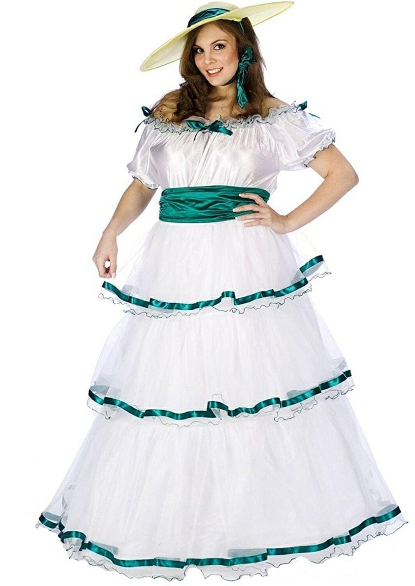 Southern Belle Adult Costume Plus Size Toynk Toys