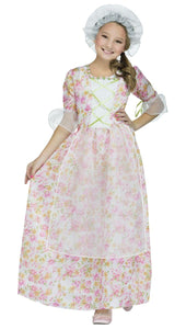 Colonial Cap & Apron Child Costume Kit, One Size