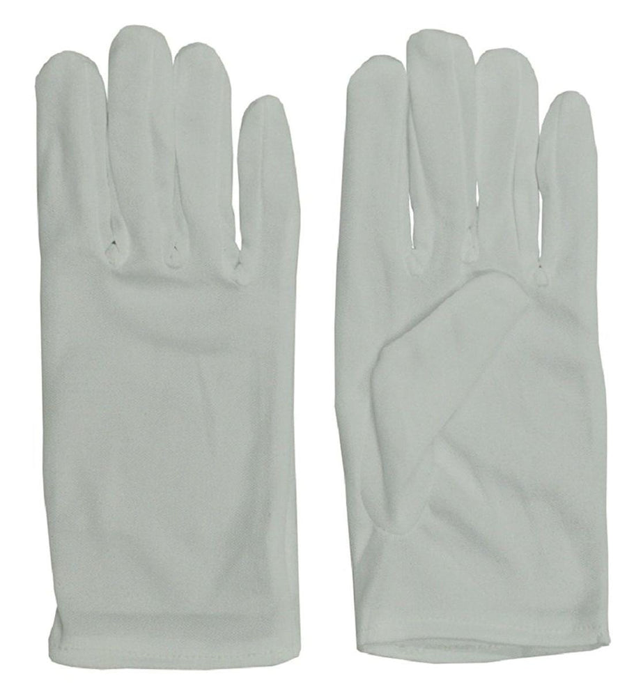 Gloves White Costume Accessory