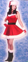 Load image into Gallery viewer, Mrs Santa Baby Costume Dress With Accessory