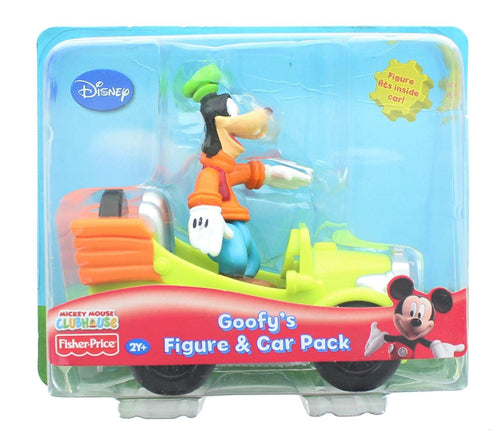 Mickey Mouse Clubhouse Goofy's Figure & Car Pack