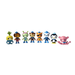 Octonauts Octo-Crew 3 Inch Mini Figure Set | 8 Figures
