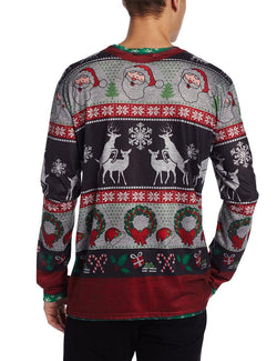 Ugly Christmas Sweater Frisky Deer