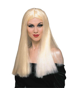 Long Blonde Adult Costume Wig
