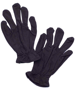 Black Theatrical Adult Costume Gloves