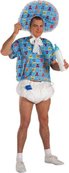Blue Baby Costume Kit Adult Standard