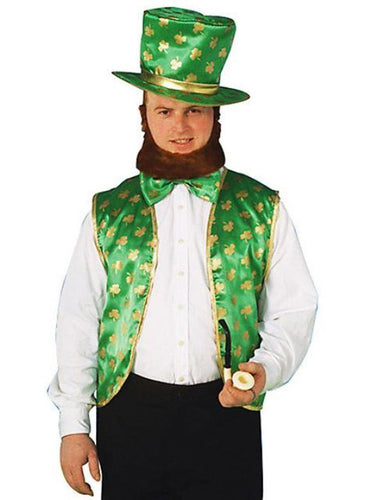 St Patricks Day Leprechaun Costume Kit One Size Fits Most