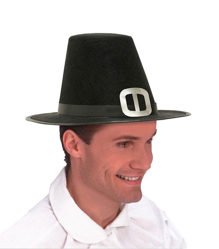 Thanksgiving Pilgrim Men's Costume Hat