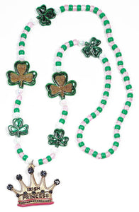 St. Patrick's Irish Princess Costume Jewelry Beads