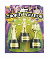 Halloween Costume Trophy Awards Three Pack