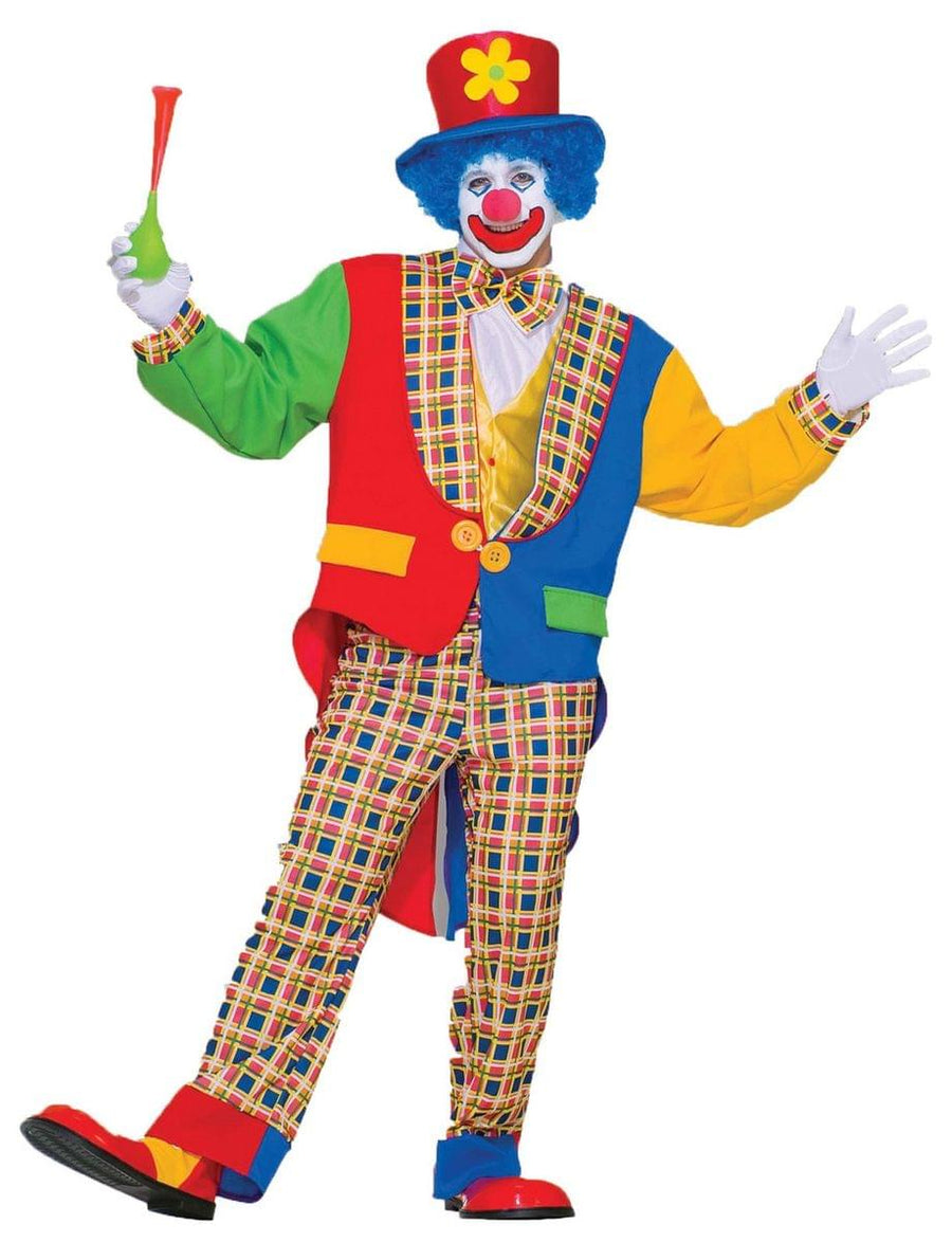 Clown on the Town Costume Adult Standard