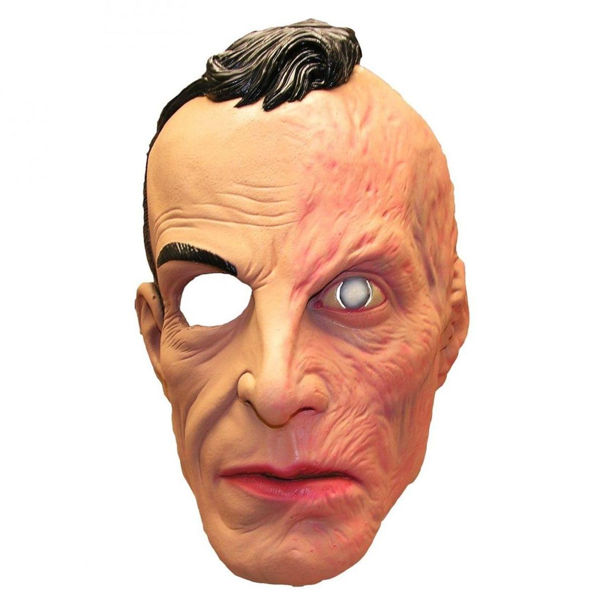 American Horror Story 1/2 Burned Face Larry Harvey Adult Costume Mask