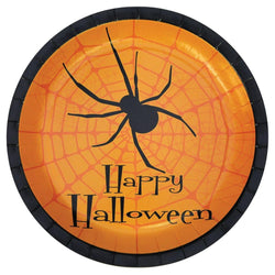 "Happy Halloween Plates 8 Pack of 9"" Party Supplies"