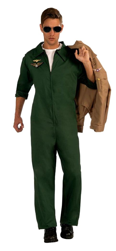 Aviator Jumpsuit Adult Costume
