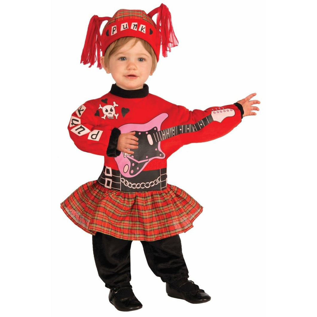 Punk Rock Baby Girl Infant Costume