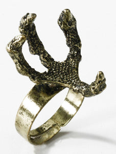 Medieval Fantasy Dragon Claw Costume Ring