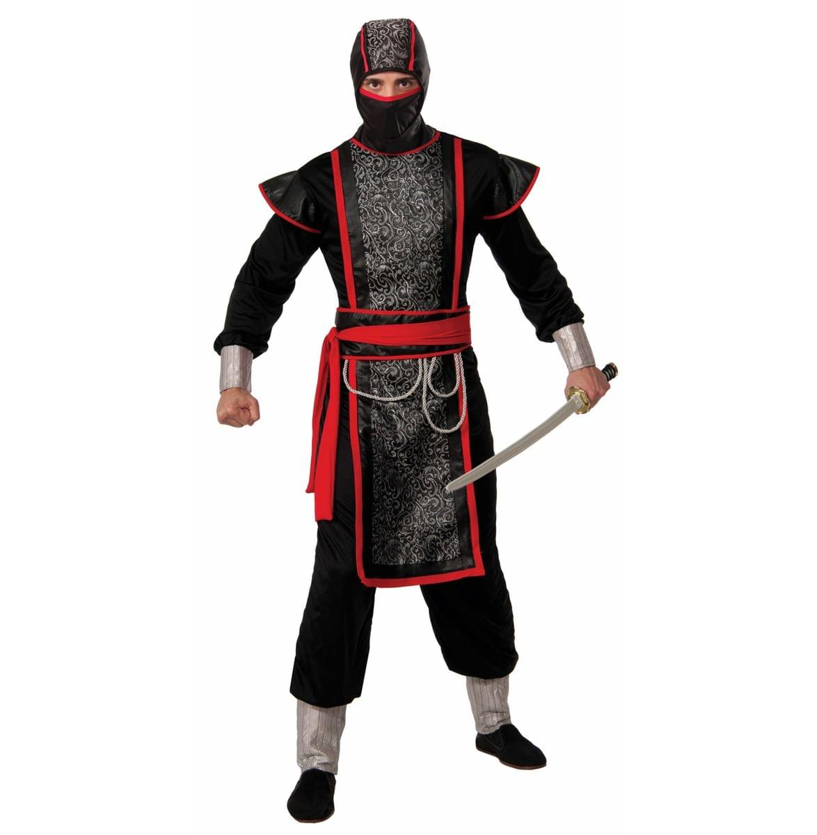 Hooded Ninja Master Adult Costume