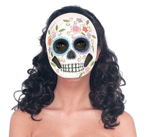 Day Of The Dead Women's Costume Mask