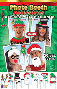 Photo Booth Christmas Card Accessories