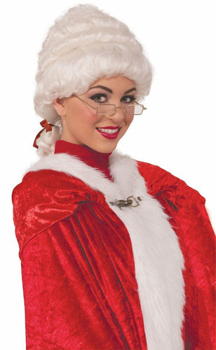 Mrs. Claus Adult Deluxe Costume Wig