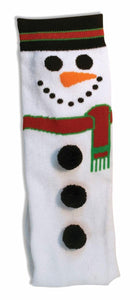 Women's Adult Christmas Socks Snowman