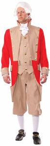 British Red Coat Adult Costume