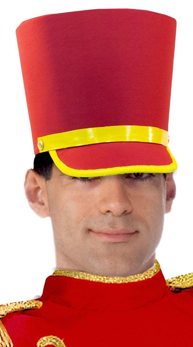Toy Soldier Hat Adult Costume Accessory