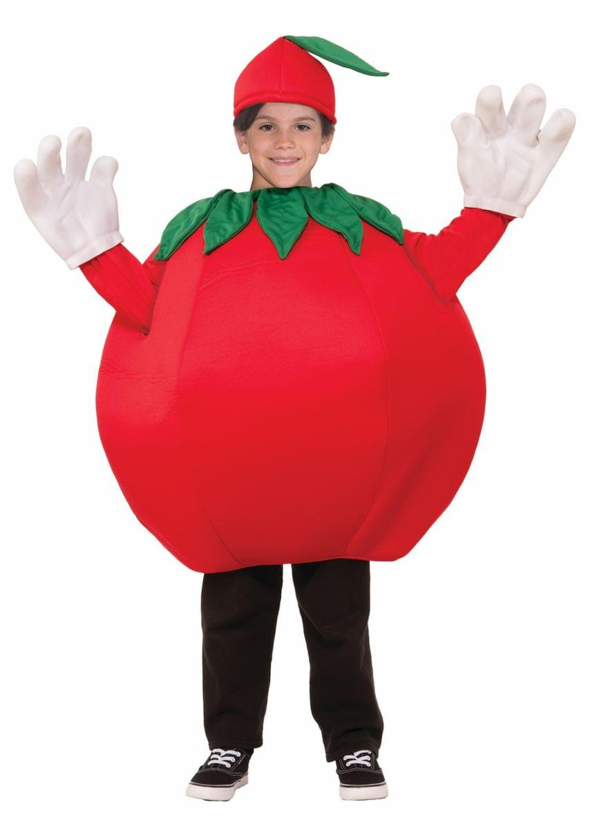 Tomato Child Costume One Size Fits Most