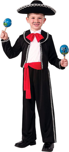 Mariachi Dancer Child Costume