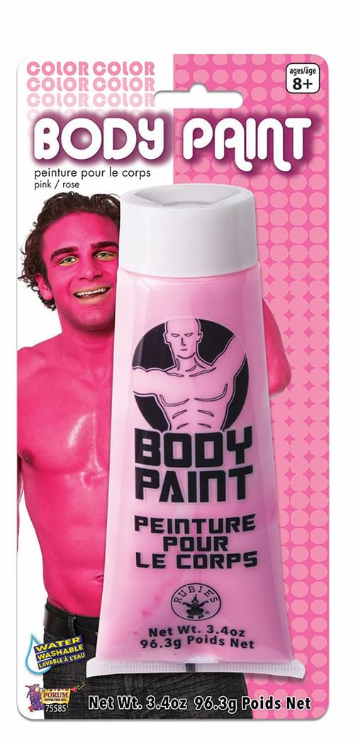 Washable Costume Body Paint 3.4oz Pink