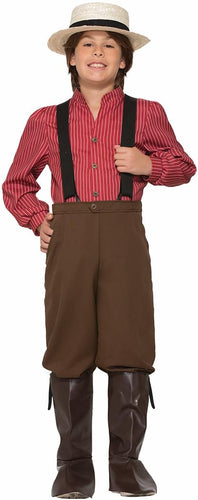 Pioneer Boy Costume Child
