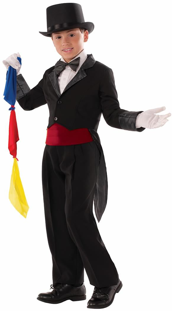 Magician Tailcoat Costume Child