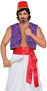 Desert Prince Deluxe Red Sash Costume Accessory Adult Men