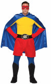 Superhero Black Costume Boot Tops Adult