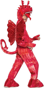 Red Dragon Costume Child