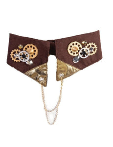 Steampunk Collar Costume Accessory Teen/Adult Men