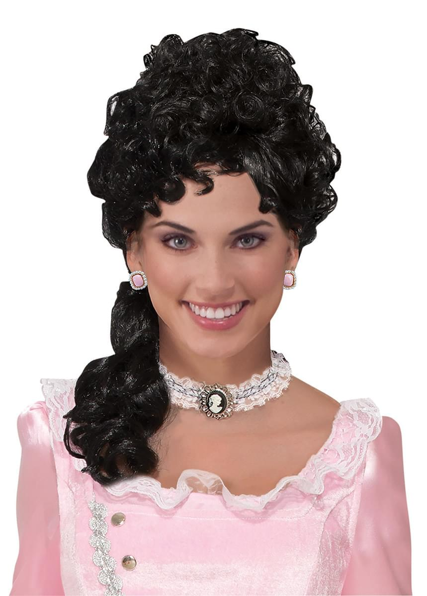 Black Belle Colonial Costume Wig