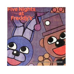 "Five Nights at Freddy's 16 Count 10"" Square Beverage Napkins"