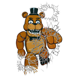 Five Nights At Freddy's 2 Pack Freddy Window Cover