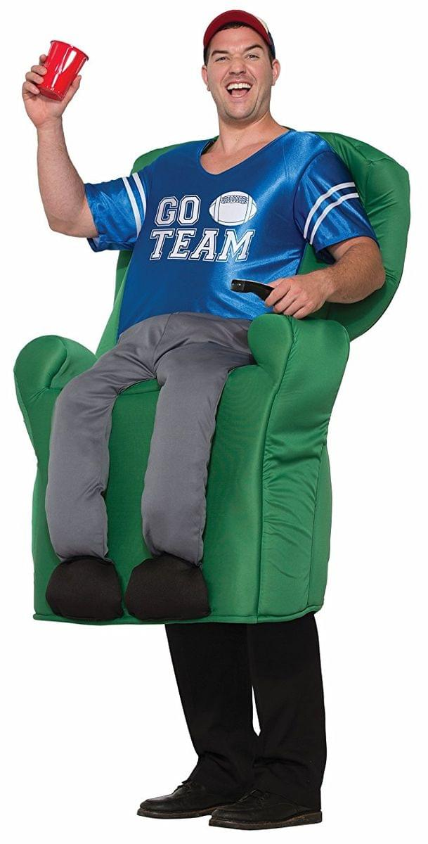 Armchair Quarterback Deluxe Adult Ride-on Costume