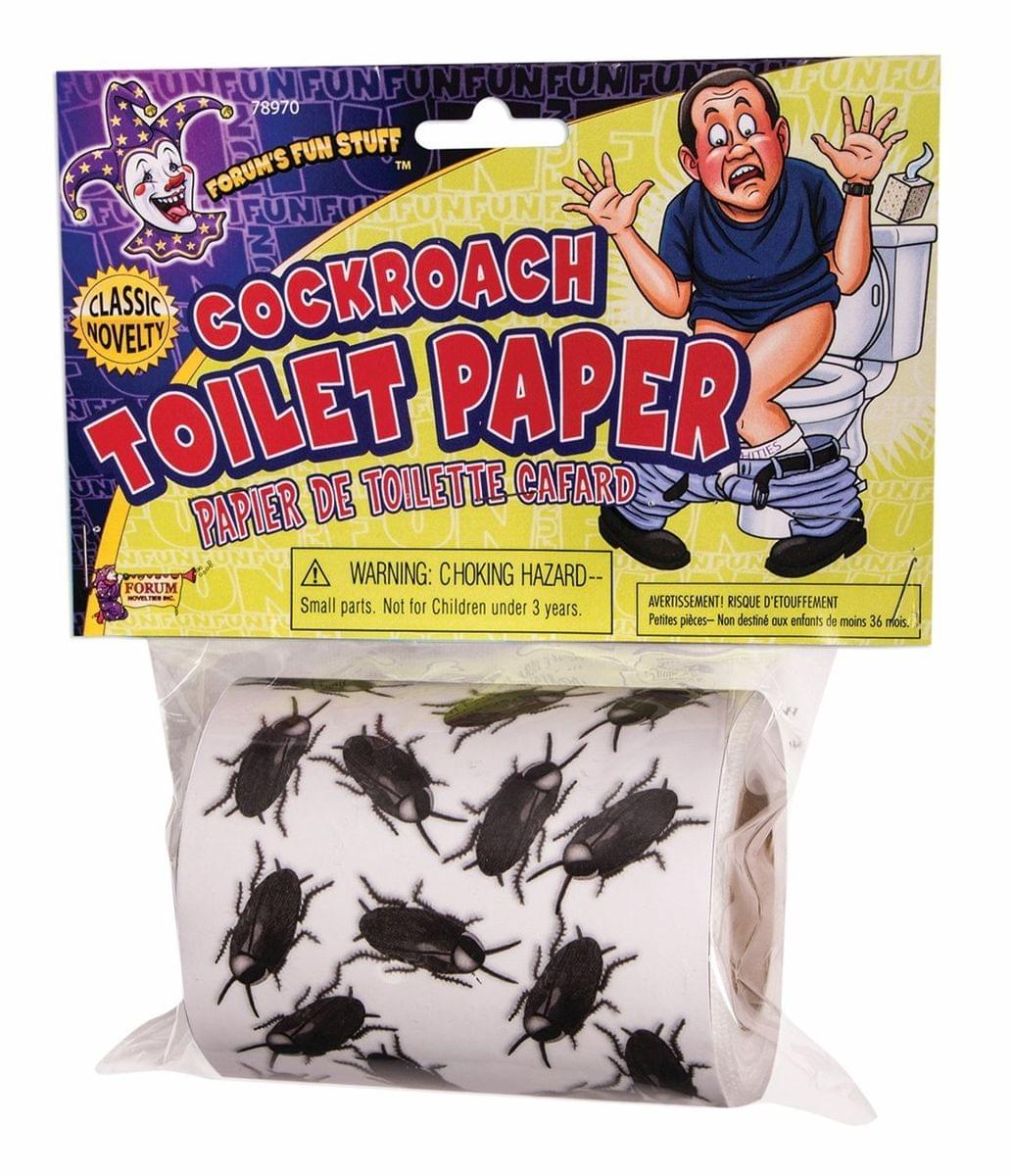 Cockroach Toilet Paper Halloween Décor