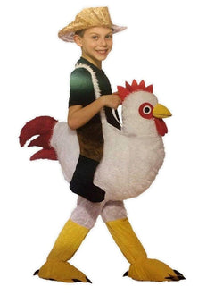 Chicken Deluxe Child Ride-on Costume